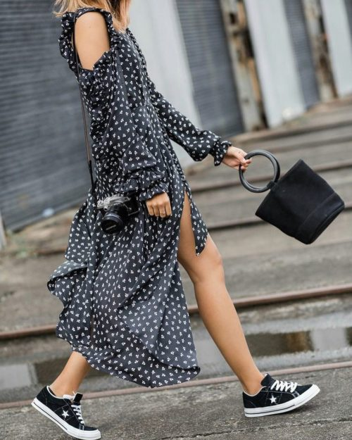 5 ways to wear a romantic dress this