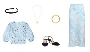 Baby blue – modny kolor na lato